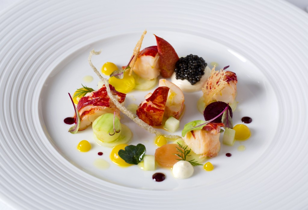 Lobster and Beetroot pickled, Ritz, London