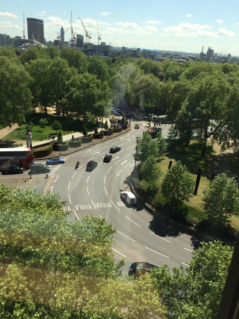 View of Hyde Park Corner, from Presidential Suite, Intercon Park Lane
