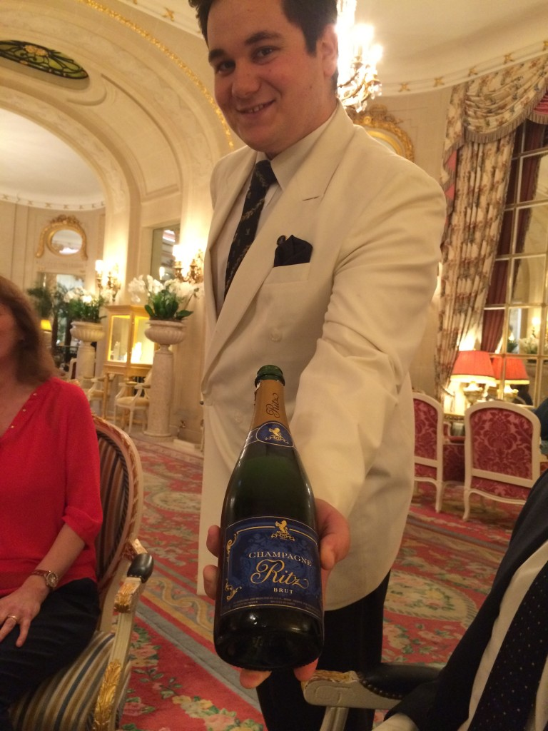 Champagne at The Ritz