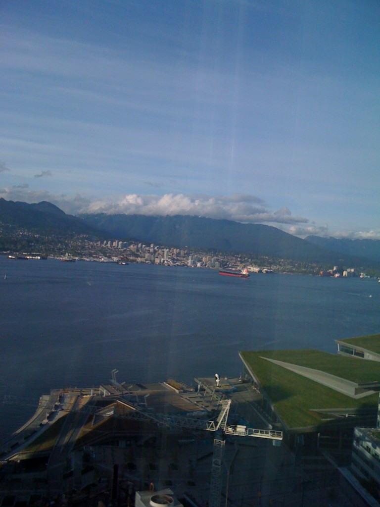 View from Marriott Pinnacle, Vancouver, BC